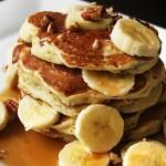 Banánovo-ořechové lívance (bez mouky a cukru)