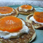 Lehké a zdravé lívanečky z ricotty s mandarinkou
